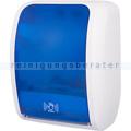Sensor Handtuchspender Cosmos weiß/blau