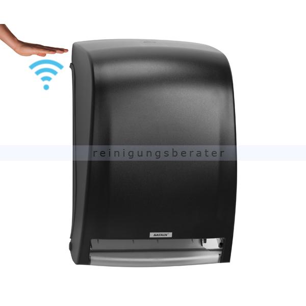Sensor Handtuchspender KATRIN Kunststoff schwarz
