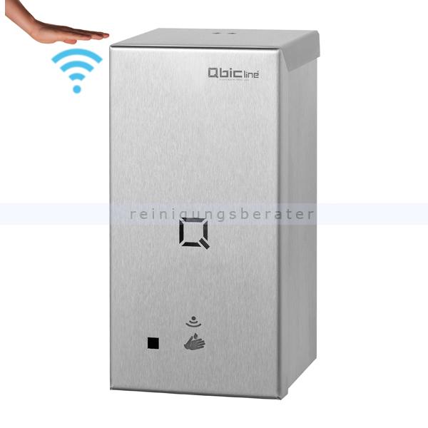 All Care Qbic-line Seifenspender automatisch Edelstahl 650 ml berührungsloser Seifenspender mit Sensor 6731