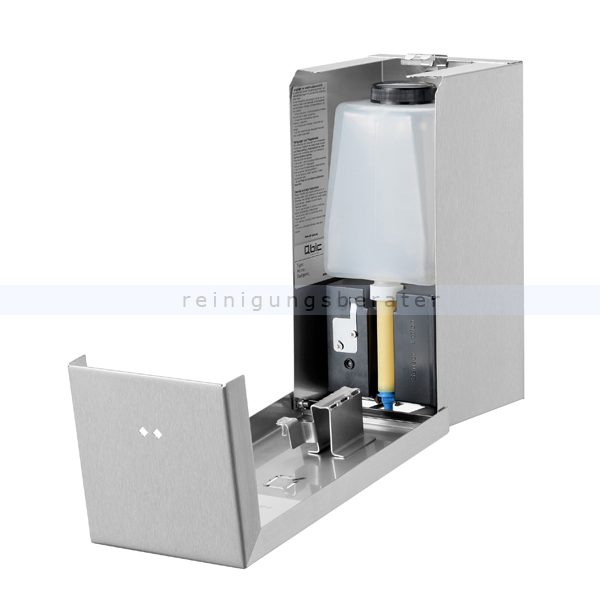 qbic line seifenspender automatisch edelstahl 650 ml. Black Bedroom Furniture Sets. Home Design Ideas