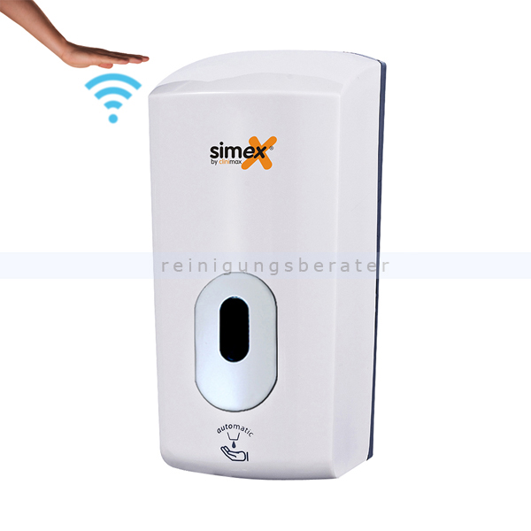Sensorspender für Seife Simex Elegance ABS weiß 1,1 L