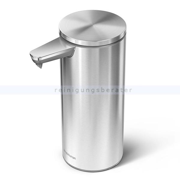 Sensorspender für Seife Simplehuman gebürsteter Stahl 266 ml