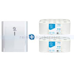 Sensorspender Papernet Handtuchrollenspender weiß im Set