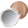 Sensorspiegel Simplehuman 10 cm Kosmetikspiegel rosegold