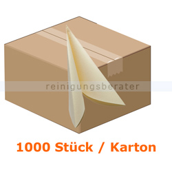 Servietten AIRLAID Vliesserviette 38x38 cm buttermilk