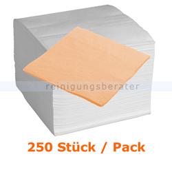 Servietten in der Farbe apricot 33x33 cm, 250 Stück