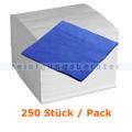 Servietten in der Farbe blau 40x40 cm, 250 Stück