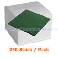 Servietten in der Farbe grün 40x40 cm. 250 Stück