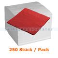 Servietten in der Farbe rot 33x33 cm, 250 Stück