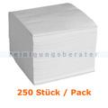 Servietten in der Farbe weiß 32x32 cm, 250 Stück