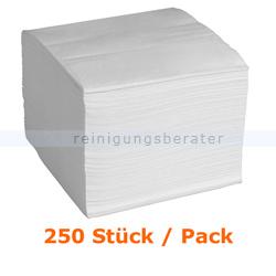 Servietten in der Farbe weiß 33x33 cm, 250 Stück
