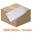Zusatzbild Servietten, Prägeservietten Fripa viertel Falz weiß 33x33 cm