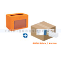 Serviettenspender SET Papernet PREMIUM 17 orange