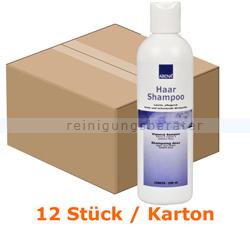 Shampoo Abena Haar Shampoo mit Gurkenduft 250 ml Karton