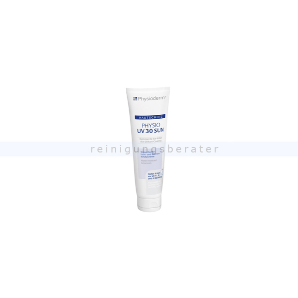 Sonnencreme Physioderm Physio UV 30 Sun 100 ml Hautschutzcreme gegen natürliche und künstliche UV-Strahlen, 14134-002