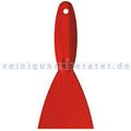 Spachtel Haug für den Lebensmittelbereich 11 cm breit rot