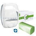 Spenderkombination DUO Washroom Spender und Papierhandtücher