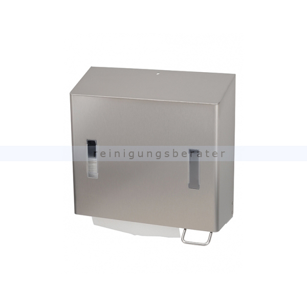 Spenderkombination SanTRAL Handtuch- & Seifenspender 1,2 L