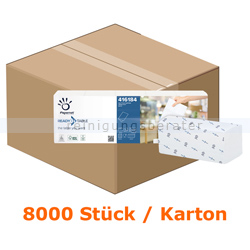 Spenderservietten Papernet 1/2 Falz 2-lagig, 8000 Stück