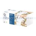Spenderservietten Papernet 1/2 INTERFOLD 1-lagig, 450 Stück