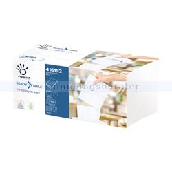 Spenderservietten Papernet 1/4 INTERFOLD 2-lagig, 110 Stück