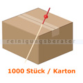 Spieße NatureStar BIO Bambus mit Kugel rot 1000 Stück