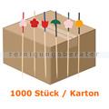 Spieße NatureStar BIO Bambus mit Motiven 1000 Stück