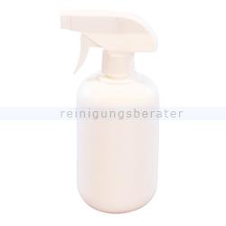 Sprühflasche 500 ml weiß mit Sprühkopf weiß