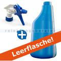 Sprühflasche blau 600 ml inkl. Sprühköpf weiss/blau