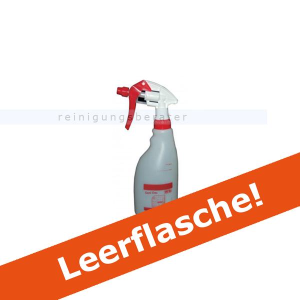 Diversey Sani Des Leerflasche 500 ml Sprühflasche Nachfüllflasche Sani Des, Triggersprayflasche