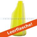Sprühflasche ohne Sprühkopf gelb Leerflasche 600 ml