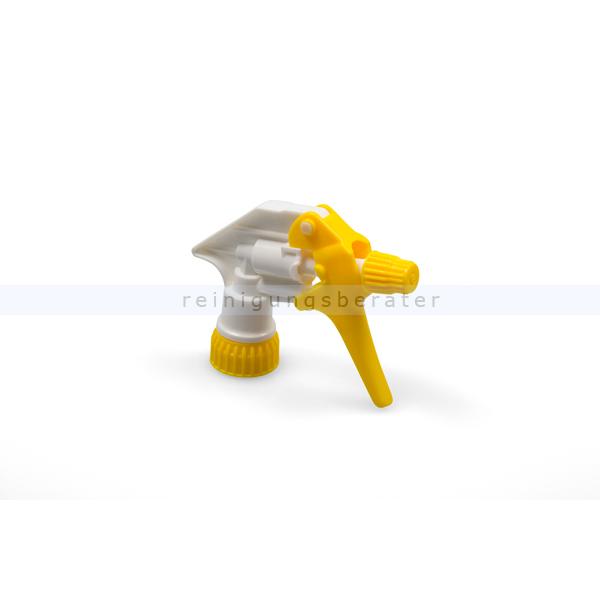 Sprühpistole Tex Spray weiss/gelb mit 25 cm Ansaugrohr
