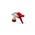 Zusatzbild Sprühpistole Tex Spray weiss/rot mit 17 cm Ansaugrohr