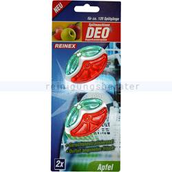 Spülmaschinen Deo Reinex 2er Pack Apfel