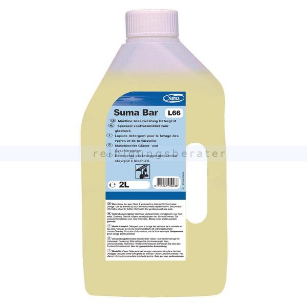 Diversey Suma Bar L66 2 L Spezial-Geschirrreiniger für Gläser 100987499