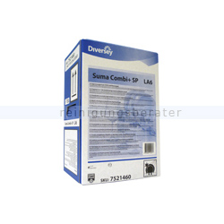 Spülmaschinenreiniger Diversey Suma Combi Plus LA6 10 L flüssiger Geschirrreiniger mit integriertem Klarspüler 101101253
