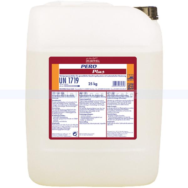 Dr. Schnell PERO Plus 25 kg Spühlmaschinenreiniger alkalischer Reinigungsverstärker für gewerbl. Sühlmaschinen 66035
