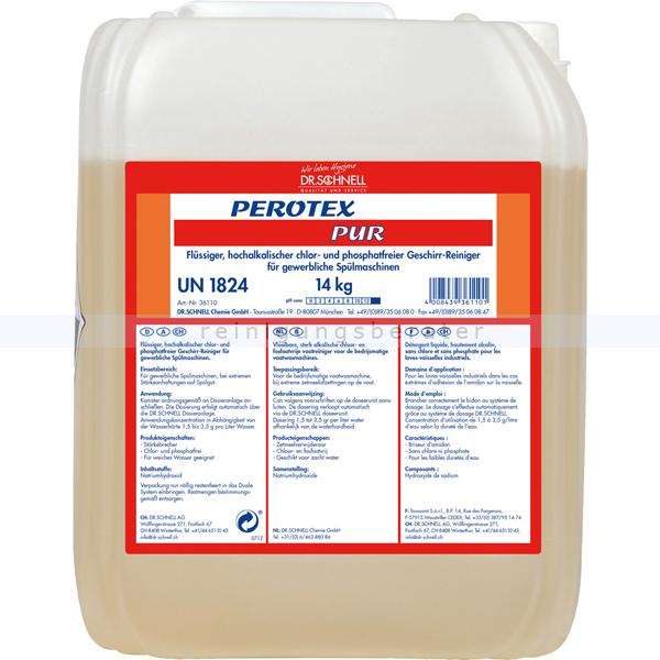 Spülmaschinenreiniger Dr.Schnell PEROTEX PUR 14 kg