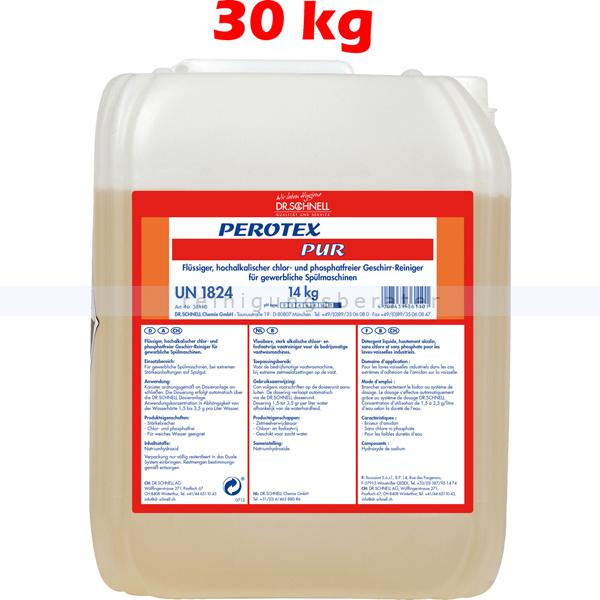 Spülmaschinenreiniger Dr.Schnell PEROTEX PUR 30 kg