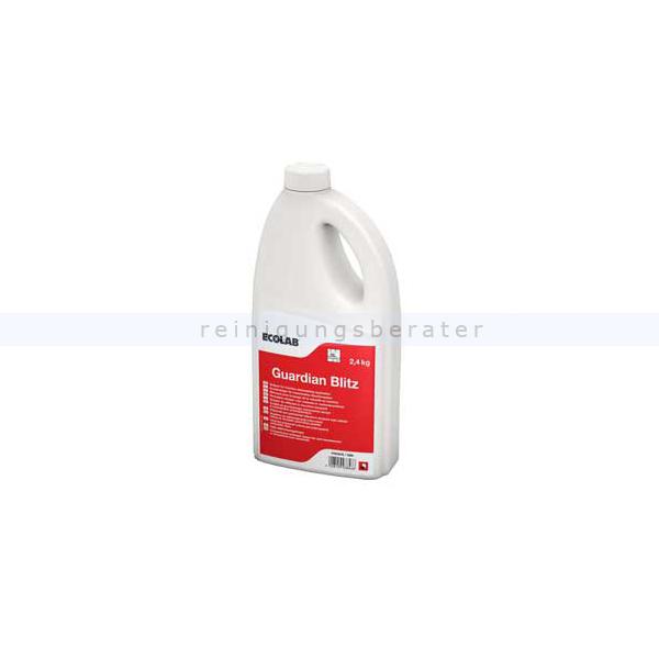 Ecolab Guaridan Blitz 2,4 kg Spülmaschinenreiniger Geschirrreinigerpulver, nicht für Aluminium geeignet 9038450