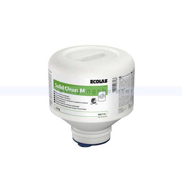 Ecolab Solid Clean M 4,5 kg Kartusche Spülmaschinenreiniger ökologisches Maschinenspülmittel 9067170