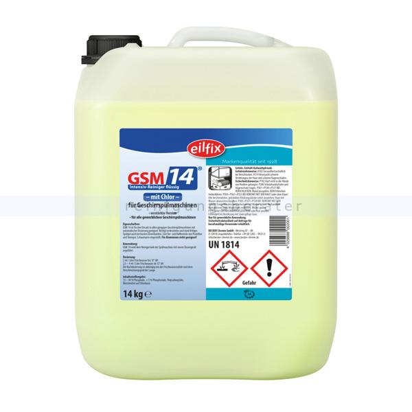 Spülmaschinenreiniger GSM 14 Becker Chemie 14 kg