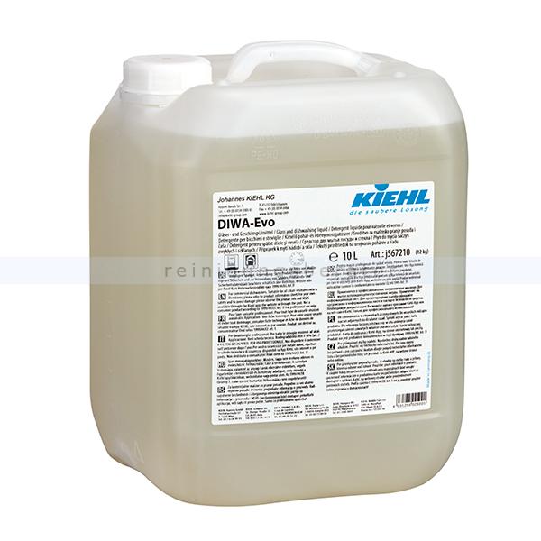 Spülmaschinenreiniger Kiehl DIWA Evo 10 L Gläser- und Geschirrspülmittel für alle Wasserhärten j567210