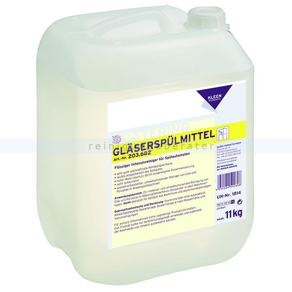 Spülmaschinenreiniger Kleen Purgatis Gläserspülmittel 11 kg kraftvoller Gläserspülmaschinenreiniger 90203682