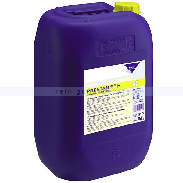 Spülmaschinenreiniger Kleen Purgatis Prestan H 35 kg Spülmaschinenreiniger für hohe Wasserhärten 90600114
