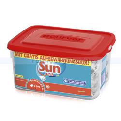 Spülmaschinentabs Diversey SUN All in 1, 200 Tabs Curver Box