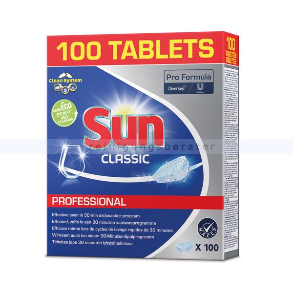 Spülmaschinentabs Diversey SUN Prof.Classic Tablets 100 Tabs