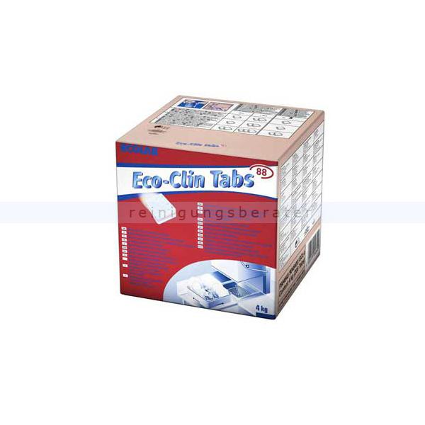 Ecolab Eco Clin 4 kg Spülmaschinentabs Reinigertabs für Geschirrspülmaschinen 9034300