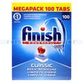 Spülmaschinentabs Finish Classic Megapack Tabs 100 Stück