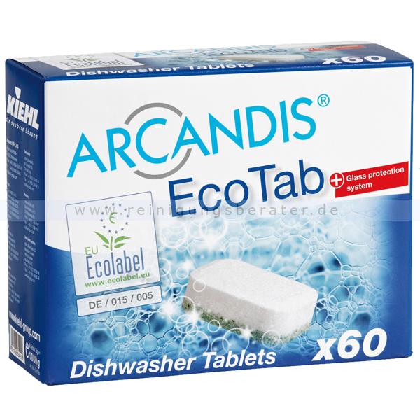 Spülmaschinentabs Kiehl ARCANDIS®-EcoTab 60 x 18g